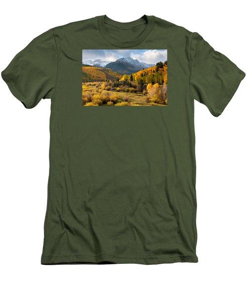 Willow Swamp Men's T-Shirt (Slim Fit) by Steve Stuller