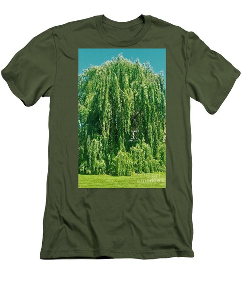Willow Weep For Me Men's T-Shirt (Athletic Fit)
