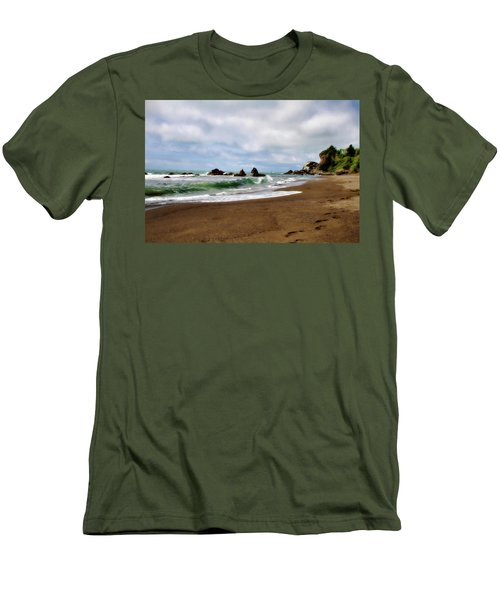 Wilson Creek Beach Men's T-Shirt (Slim Fit)