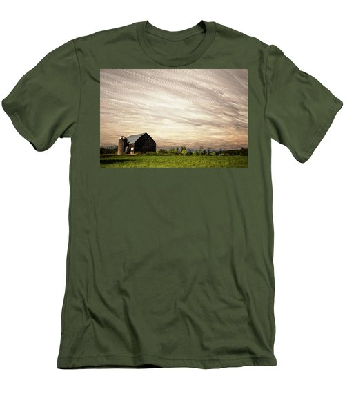 Wind Farm Men's T-Shirt (Athletic Fit)