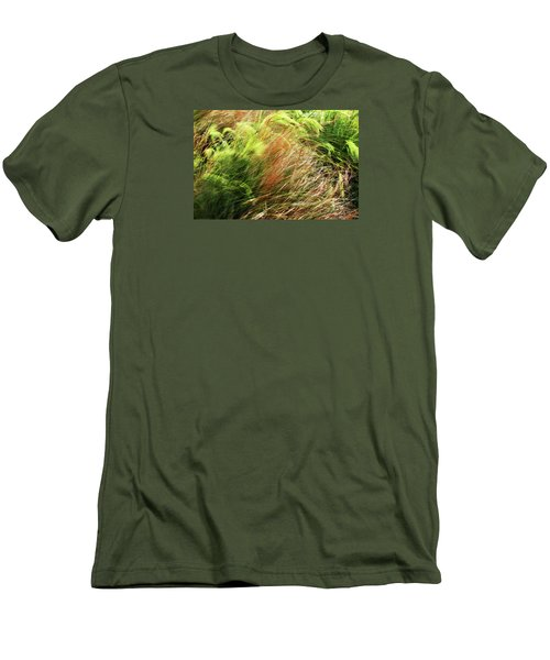 Windblown Grasses Men's T-Shirt (Athletic Fit)