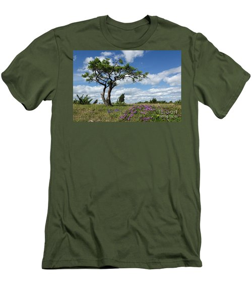 Windblown Men's T-Shirt (Athletic Fit)