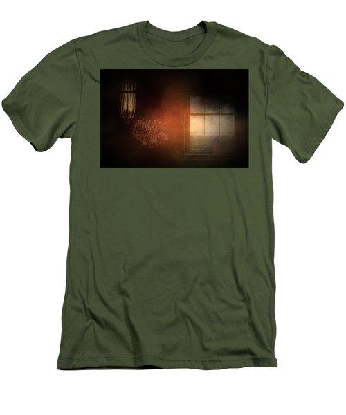 Window Art Men's T-Shirt (Slim Fit)