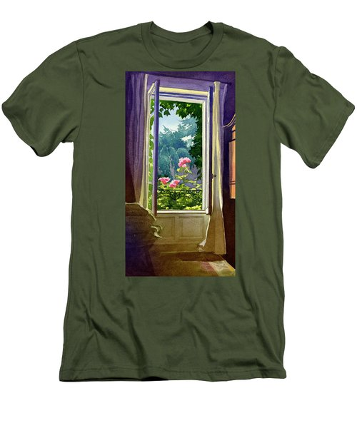 Window At Clermont Men's T-Shirt (Athletic Fit)