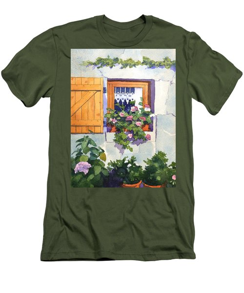 Window At St Saturnin Men's T-Shirt (Athletic Fit)