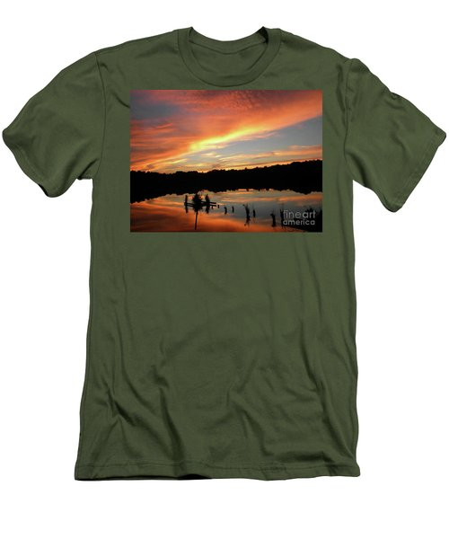 Windows From Heaven Sunset Men's T-Shirt (Athletic Fit)