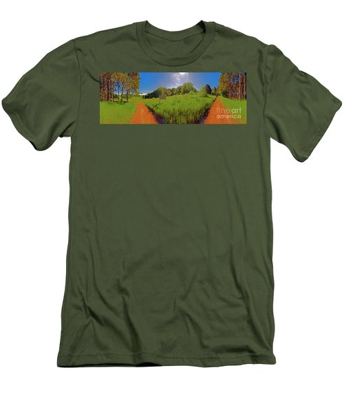 Wingate Prairie Men's T-Shirt (Athletic Fit)