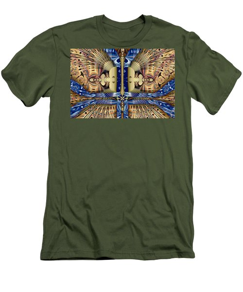 Winged Anubis Men's T-Shirt (Athletic Fit)