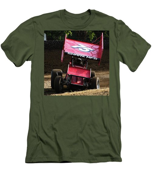 Wingin' It Into The Turn Men's T-Shirt (Athletic Fit)