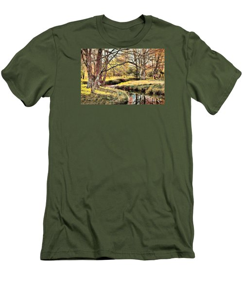 Winter Artistry Ap Men's T-Shirt (Athletic Fit)