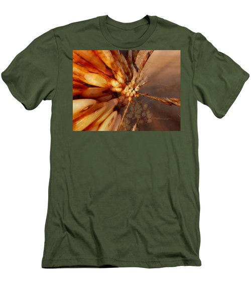 Men's T-Shirt (Slim Fit) featuring the photograph Winter Berries by Keith Elliott
