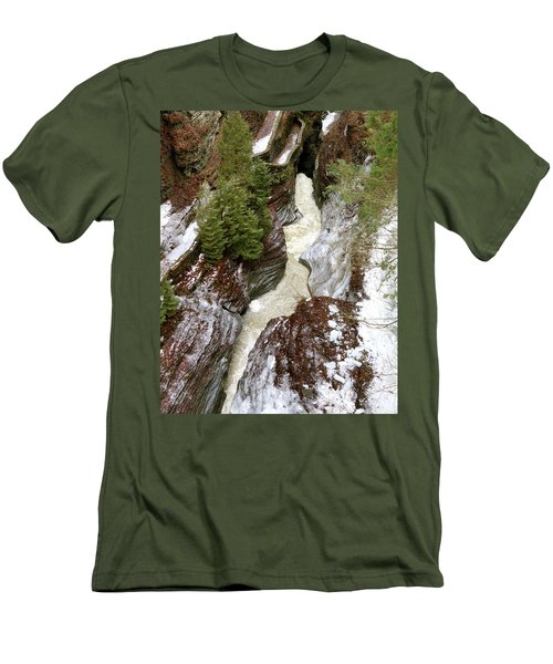 Winter Gorge Men's T-Shirt (Athletic Fit)