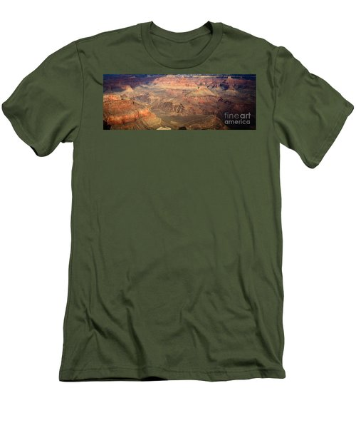 Winter Light In Grand Canyon Men's T-Shirt (Athletic Fit)