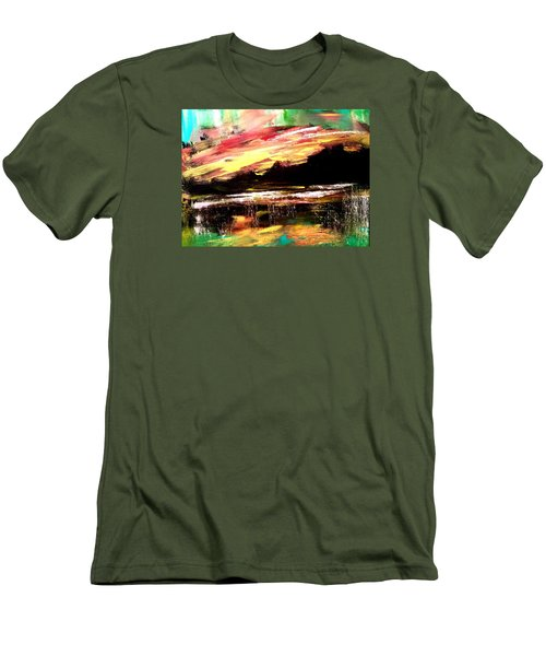 Wintry Morning Men's T-Shirt (Athletic Fit)