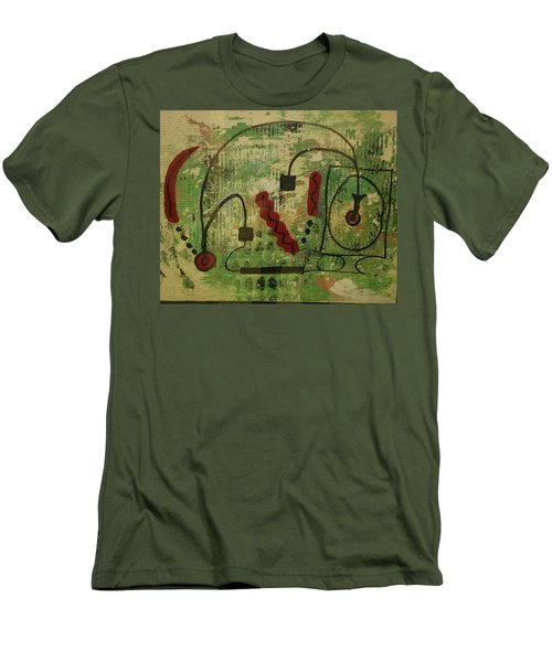 Wired Composition Enigma Men's T-Shirt (Athletic Fit)