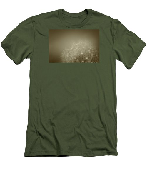 Men's T-Shirt (Slim Fit) featuring the photograph Wishing Well by The Art Of Marilyn Ridoutt-Greene