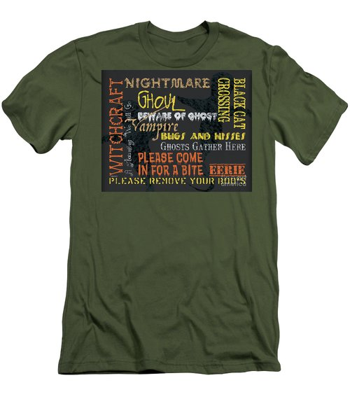 Witchcraft Typography Men's T-Shirt (Athletic Fit)