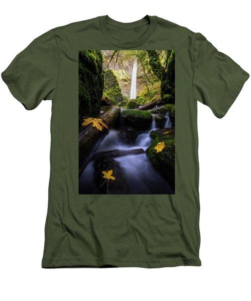 Wonderland In The Gorge Men's T-Shirt (Slim Fit)