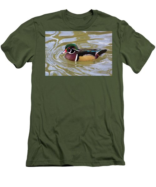Wood Duck Men's T-Shirt (Athletic Fit)