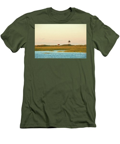 Wood End Lighthouse Men's T-Shirt (Athletic Fit)