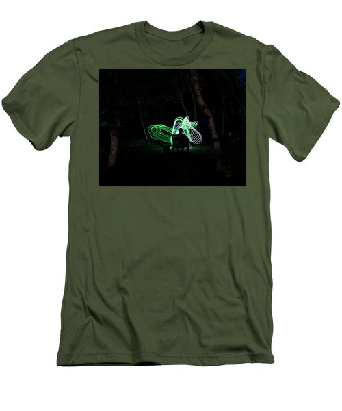 Woodland Fairies Men's T-Shirt (Athletic Fit)
