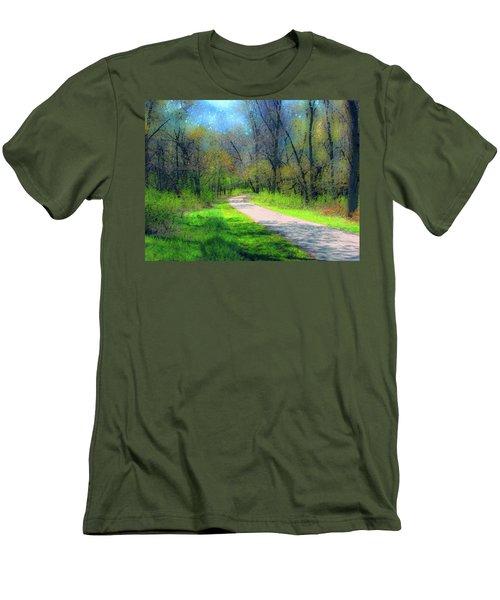 Woodland Trail Men's T-Shirt (Athletic Fit)