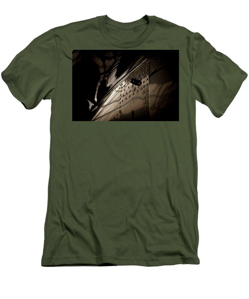 Men's T-Shirt (Slim Fit) featuring the photograph Wow, Look At The Reflections by Paul Job