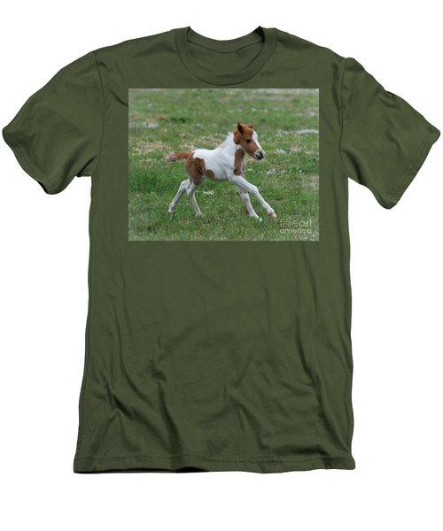 Wyatt Men's T-Shirt (Slim Fit) by Amy Porter
