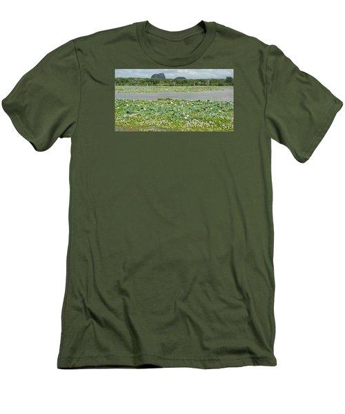 Yala National Park Men's T-Shirt (Slim Fit) by Christian Zesewitz