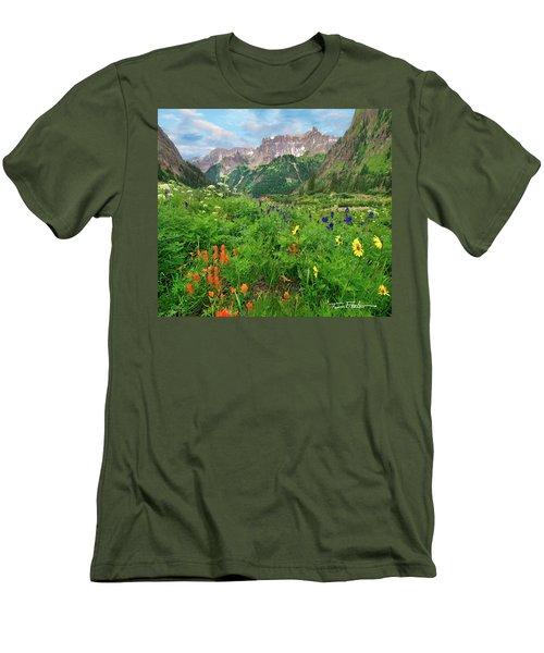 Yankee Boy Basin Men's T-Shirt (Slim Fit) by Tim Fitzharris