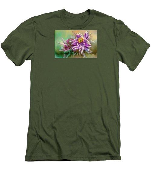Year Of Mercy Men's T-Shirt (Slim Fit) by Jean OKeeffe Macro Abundance Art