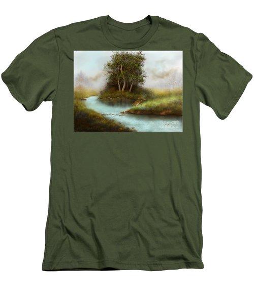 Yearling Men's T-Shirt (Slim Fit) by Sena Wilson