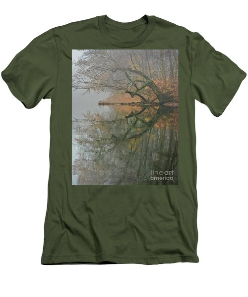 Men's T-Shirt (Slim Fit) featuring the photograph Yearming by Tom Cameron