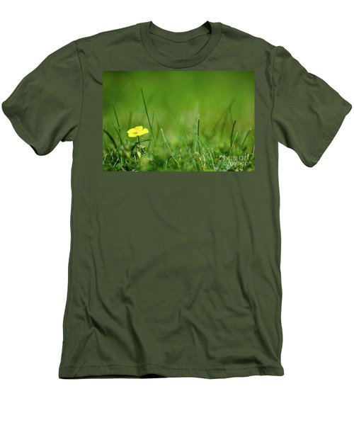Men's T-Shirt (Athletic Fit) featuring the photograph Yellow Beauty by Kennerth and Birgitta Kullman