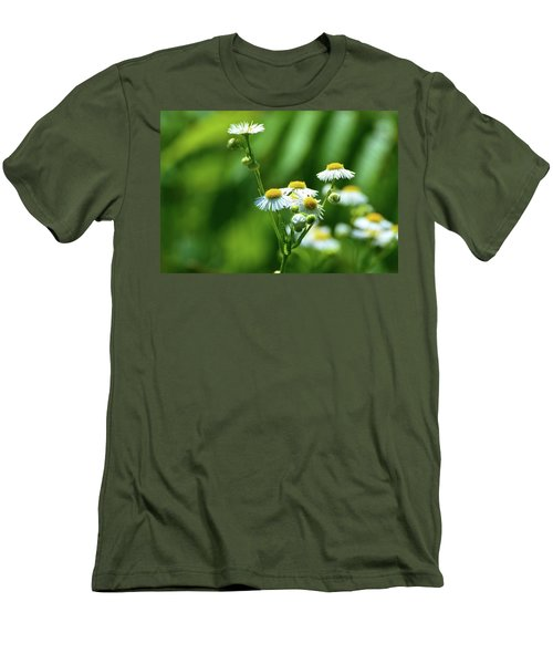 Yellow Composition  Men's T-Shirt (Athletic Fit)