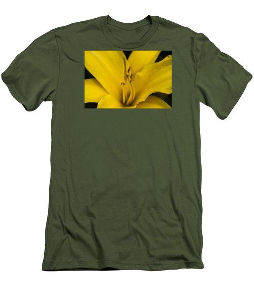 Yellow Men's T-Shirt (Slim Fit) by Dan Hefle