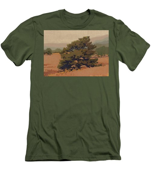Yellow Pine Men's T-Shirt (Athletic Fit)