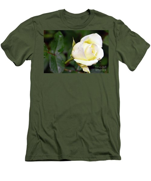 Yellow Rose 2 Men's T-Shirt (Athletic Fit)