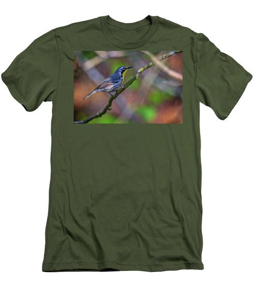 Yellow-throated Warbler Men's T-Shirt (Athletic Fit)