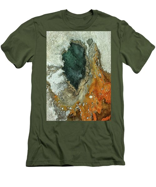 Yellowstone Landscape Men's T-Shirt (Athletic Fit)