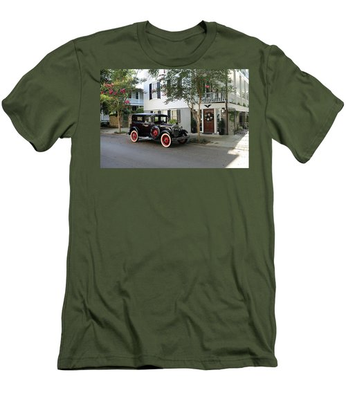 Yesteryear In Savanna Men's T-Shirt (Slim Fit) by Lamarre Labadie