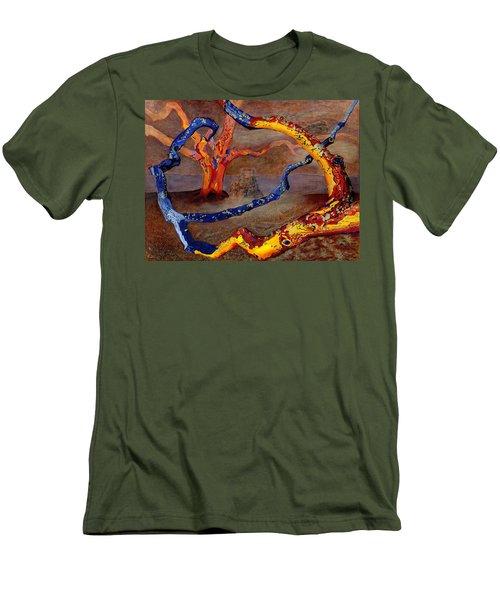Yolande's Great Oak Men's T-Shirt (Athletic Fit)