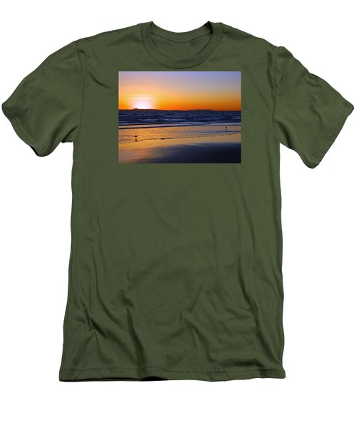 Men's T-Shirt (Slim Fit) featuring the photograph You And Me by Everette McMahan jr