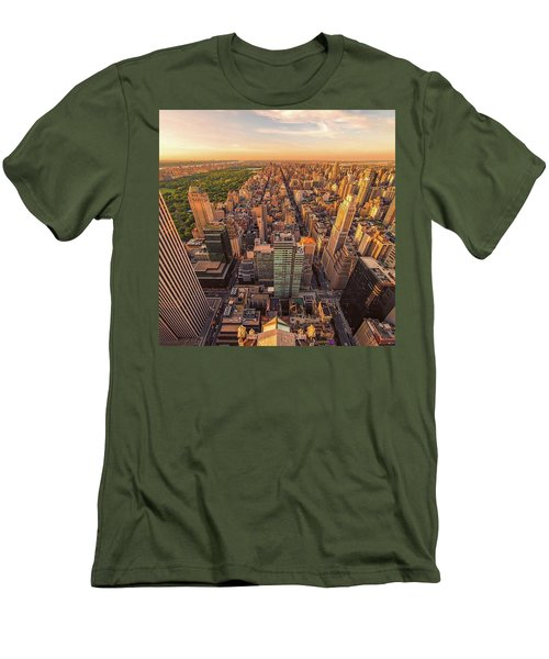 You Are Here Men's T-Shirt (Athletic Fit)