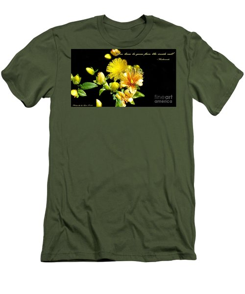 You Have To Grow Men's T-Shirt (Slim Fit) by Gena Weiser