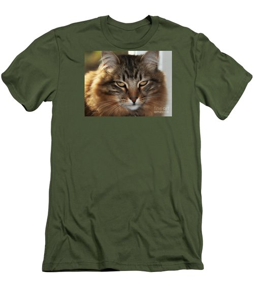 You Think Men's T-Shirt (Slim Fit) by Shari Nees