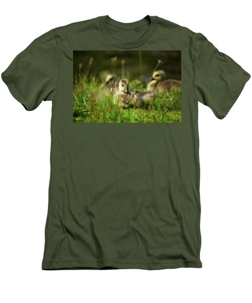 Men's T-Shirt (Slim Fit) featuring the photograph Young And Adorable by Karol Livote