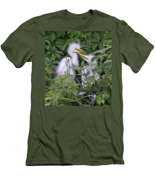 Young Egrets Men's T-Shirt (Athletic Fit)