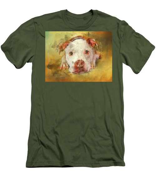 Men's T-Shirt (Athletic Fit) featuring the photograph You're My Favorite Human by Bellesouth Studio
