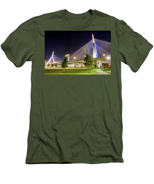 Zakim Bridge Men's T-Shirt (Athletic Fit)